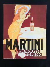 AD Martini Vermouth Torino Alcoholic Beverage - Poster Print 16x20 - Vintage