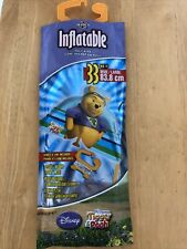 "Inflatable Poly Kite 33"" wide Pooh Bear Disney handle & line included New"