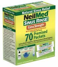 NeilMed Sinus Rinse Premixed Sachets Hypertonic Nasal Irrigation 70 Sachets
