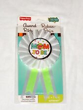 FISHER PRICE BABY  SHOWER 1-MOM TO BE  AWARD RIBBON . . - PARTY SUPPLIES