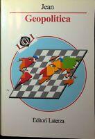 GEOPOLITICA Carlo Jean editori Laterza 1996