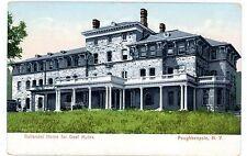 Poughkeepsie NY - GALLANDET HOME FOR DEAF MUTES - Postcard nr New Hamburg
