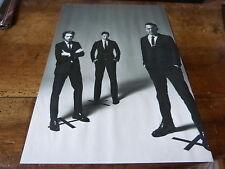 INTERPOL - Mini poster Noir & blanc !!!!!!!!!!!!!!!