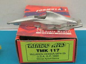 1/43-TAMEO TMK 117-KIT FORMULE 1-McLAREN HONDA MP4/5b-