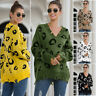 Women Sexy V-Neck Knitted Sweater Ladies Casual Knitwear Pullover Jumper Tops