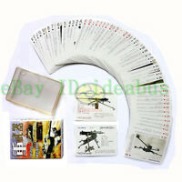 Collecting Military Playing card/Poker Deck 54 cards World Famous Heavy Weapons