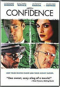 Brand New WS DVD Confidence Edward Burns Dustin Hoffman Rachel Weisz Andy Garcia