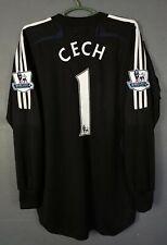 ADIDAS FC CHELSEA MATCH WORN ISSUE PETR CECH SOCCER FOOTBALL SHIRT JERSEY SIZE L