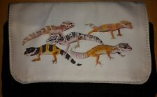 Leopard Gecko Make-Up Bag