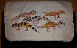 Leopard Gecko Make-Up Bag