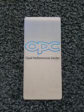 TUNING PEDANA POGGIAPIEDE POGGIAPIEDI ACCIAIO INOX OPEL CORSA ASTRA GTC OPC NEW
