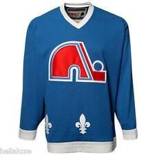 ~NWT~CCM QUEBEC NORDIQUES TEAM CLASSICS Hockey Jersey NHL Shirt Toop~Mens sz XXL