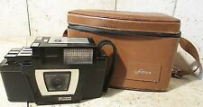 Vintage Fotron Camera Parts Lot And Brown California Saddle Leather Case Rare