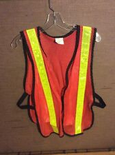 SAFETY VEST LIGHTWEIGHT MESH UNIVERSAL FIT
