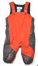 Columbia snowsuit toddler 12mon boy girl Orange camo baby snow suit bib overall