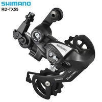 Shimano Tourney RD-TX55 6/7/8 Speed Bicycle Rear Mech Derailleur Black Fit TX35