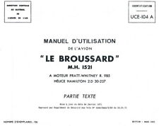 MAX HOLSTE MH.1521 BROUSSARD - MANUEL D'UTILISATION