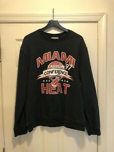Vgt 90's Eastern Conference MIAMI HEAT Sweatshirt MITCHELL & NESS L