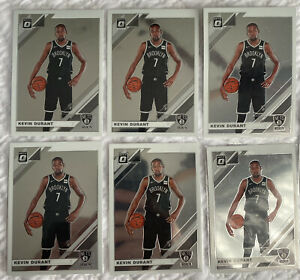 2019 Panini Optic Kevin Durant Brooklyn Lot Of 6 *Combine Sales For Reduced Post
