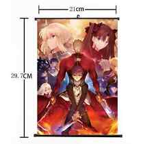 Hot Japan Anime Fate Stay Night UBW Saber Home Decor Poster Wall Scroll 21*30