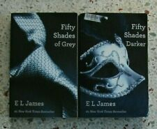 FIFTY SHADES OF GREY & FIFTY SHADES DARKER BOOKS NO DOUBLES FREE SHIPPING