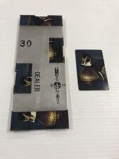 Vintage Bridge Casino Dealer Metal Shoe With All 52 Cards Duck Ships Fast!