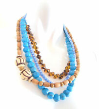 Messing Modeschmuck-Halsketten & -Anhänger aus Perlen für Damen