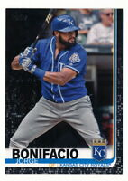 JORGE BONIFACIO 2019 TOPPS SERIES 2 BLACK PARALLEL #15/67 ROYALS #427