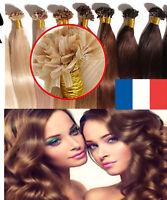 1G LA POSTE EXTENSIONS A CHAUD A KERATINE 100% NATURELS HAIR PREMIER Prix