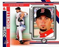 """JOSH BECKETT """"Boston Red Sox"""" LICENSED un-signed picture poster 8x10 photo"""
