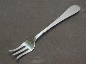 "Dominick & Haff Pointed Antique Sterling 5 3/8"" Oyster Fork Cocktail Silver 1895"