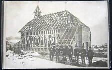 GERMANY~1912 OBER-WALDENBURG~CHURCH CONSTRUCTION~ RPPC