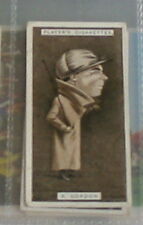 #18 robert gordon horse racing - 1925 cigarette card
