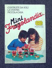 F310-Advertising Pubblicità- 1975 - MINI FRAGOLANDIA NEW GIO.CO.