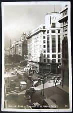 ARGENTINA~1930's Buenos Aires ~ Diagonal R. A. ~ RPPC