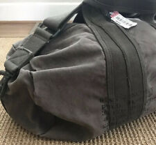 Polo Ralph Lauren Canvas Duffle Bag Green Military Deadstock Travel Luggage NWT
