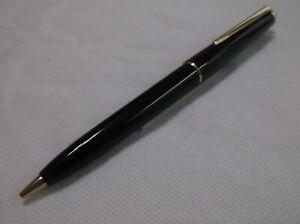 VINTAGE MONTBLANC CLASSIC # 350 BLACK MECHANCIAL PENCIL  / .9 mm LEAD