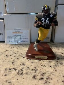 Danbury Mint Jerome Bettis Pittsburgh Steelers Sculpture!