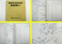 original Hanix H26B Excavator Parts Catalog Spare Parts List June 1998