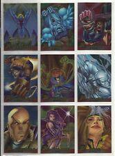 "1995 X-Men Chromium (Fleer) GOLD FOIL SIGNATURE ""Parallel Base Cards"" U-PICK (A)"