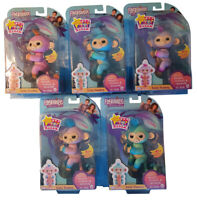 Fingerlings monkey interactive game character, different colors, responsive, new