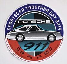 PORSCHE SPORTSCAR TOGETHER DAY 2019 STICKER DECAL 911 1963 NEW RAR