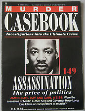 Murder Casebook Issue 149 - Martin Luther King & James Earl Ray, Carl Weiss