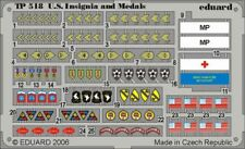 Eduard 1/35 US uniform insignia and medals WWII PRE-PAINTED IN C