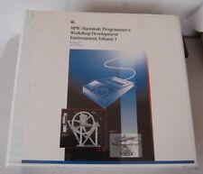 APPLE MPW MACINTOSH PROGRAMMER'S WORKSHOP DEVELOPMENT ENVIRONMENT MANUAL 1987