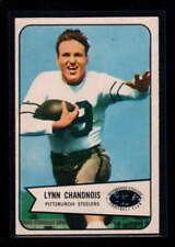 1954 BOWMAN  #49 LYNN CHANDNOIS EX-MT F4595