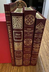 Easton Press Book Lot - 4 Volumes - 100 Greatest