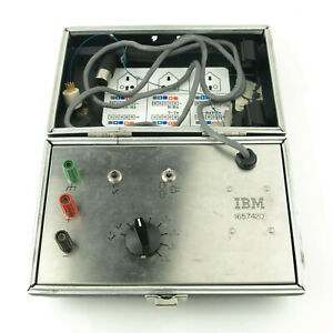 Vintage IBM 1657420 Continuity & Relay Tester Kit 1970s/1980s Computer Power