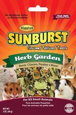Higgins Gourmet Sunburst HERB GARDEN TREAT All Small Animals 3 oz