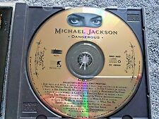 Michael Jackson Dangerous First Printing 24KT GOLD Promo CD Collectors Ed 1991
